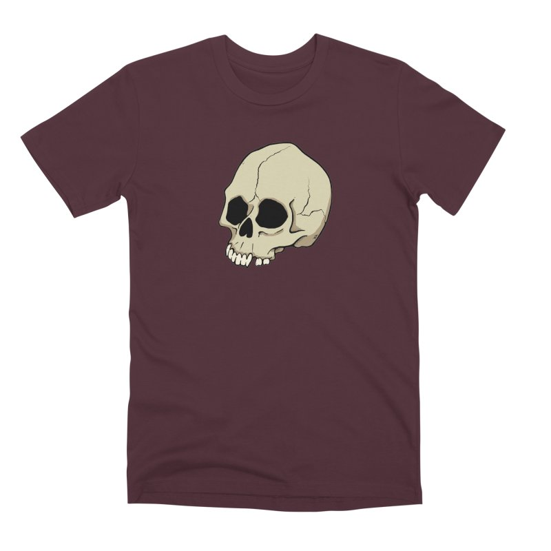 Skull Men's Premium T-Shirt by RichRogersArt