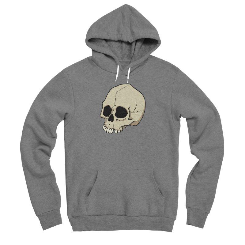 Skull Women's Sponge Fleece Pullover Hoody by RichRogersArt