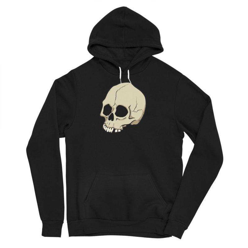Skull Men's Sponge Fleece Pullover Hoody by RichRogersArt