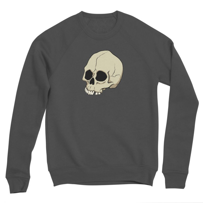 Skull Men's Sponge Fleece Sweatshirt by RichRogersArt