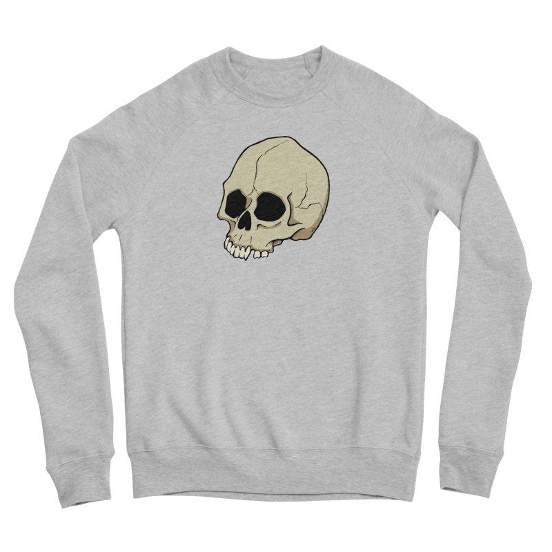 Skull Women's Sponge Fleece Sweatshirt by RichRogersArt