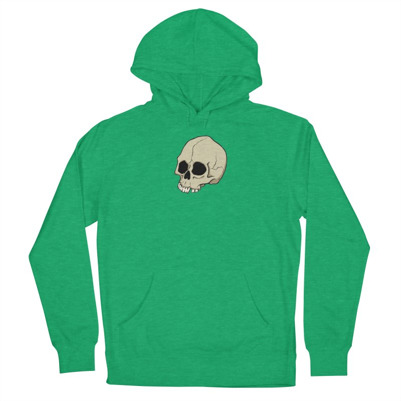 Skull Men's French Terry Pullover Hoody by RichRogersArt
