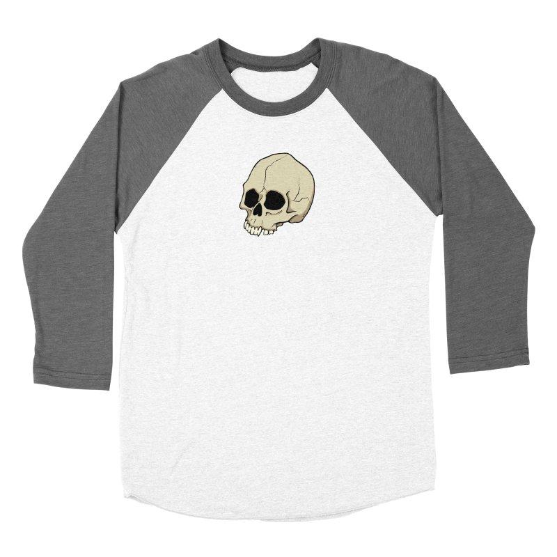 Skull Women's Longsleeve T-Shirt by RichRogersArt