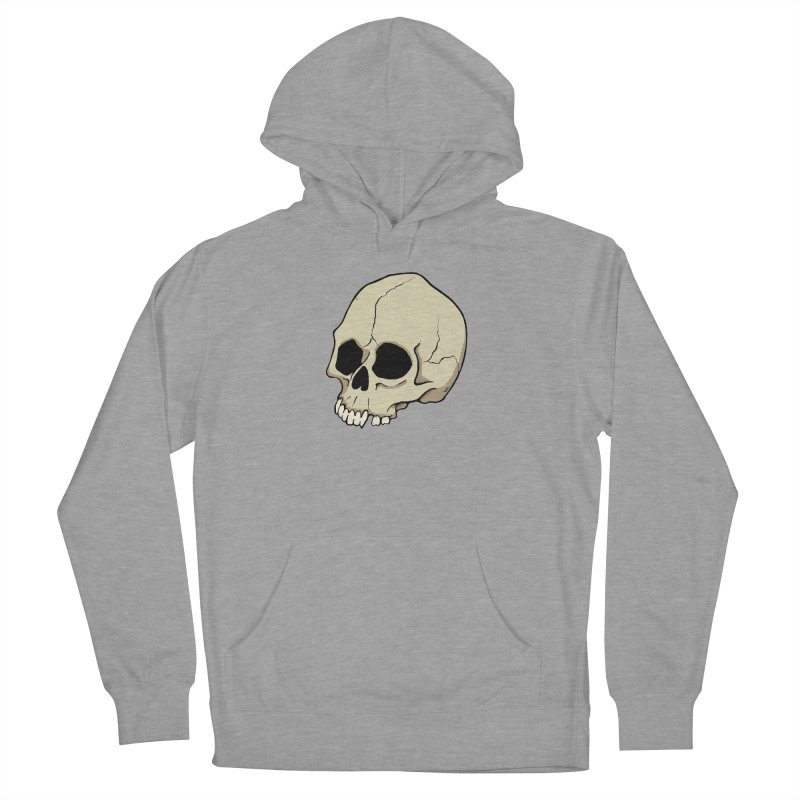 Skull Women's French Terry Pullover Hoody by RichRogersArt