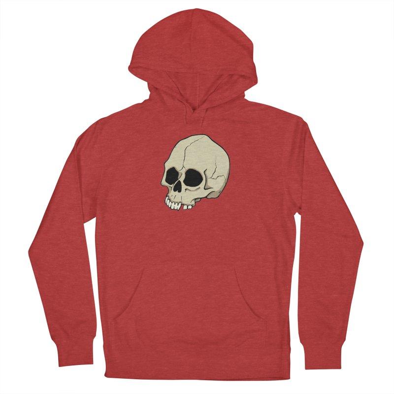 Skull Men's French Terry Pullover Hoody by RichRogersArt