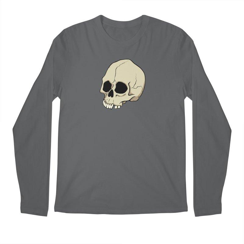Skull Men's Longsleeve T-Shirt by RichRogersArt