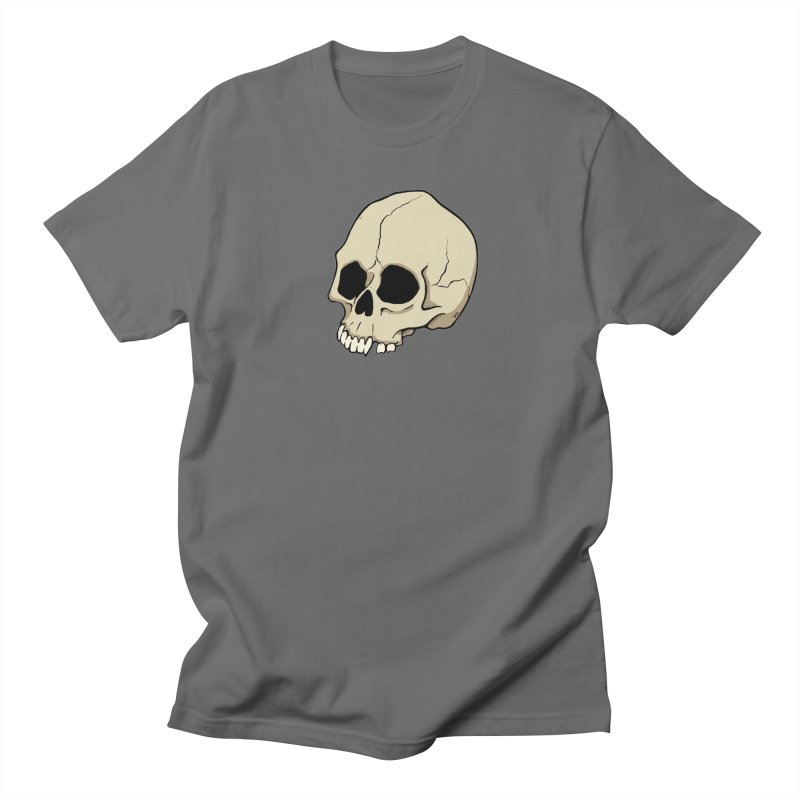 Skull Men's T-Shirt by RichRogersArt