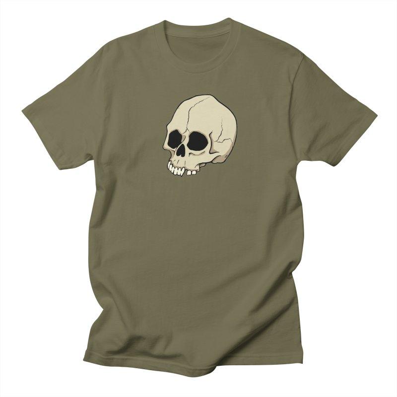 Skull Women's Regular Unisex T-Shirt by RichRogersArt