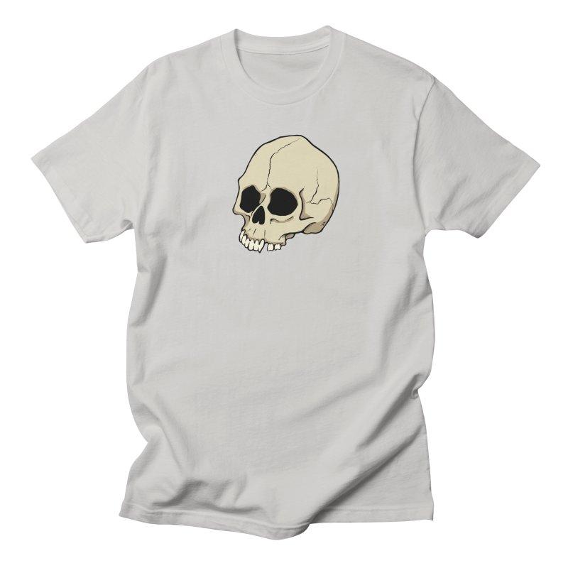 Skull Men's T-Shirt by RichRogersArt