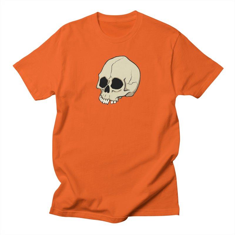 Skull Men's Regular T-Shirt by RichRogersArt
