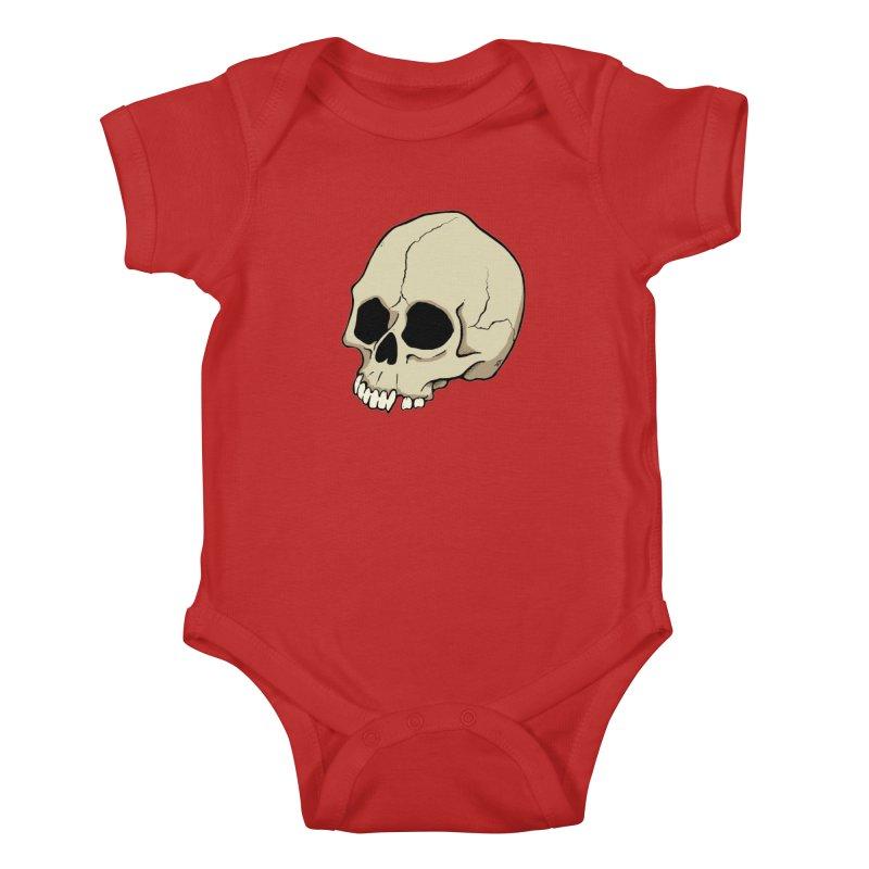 Skull Kids Baby Bodysuit by RichRogersArt