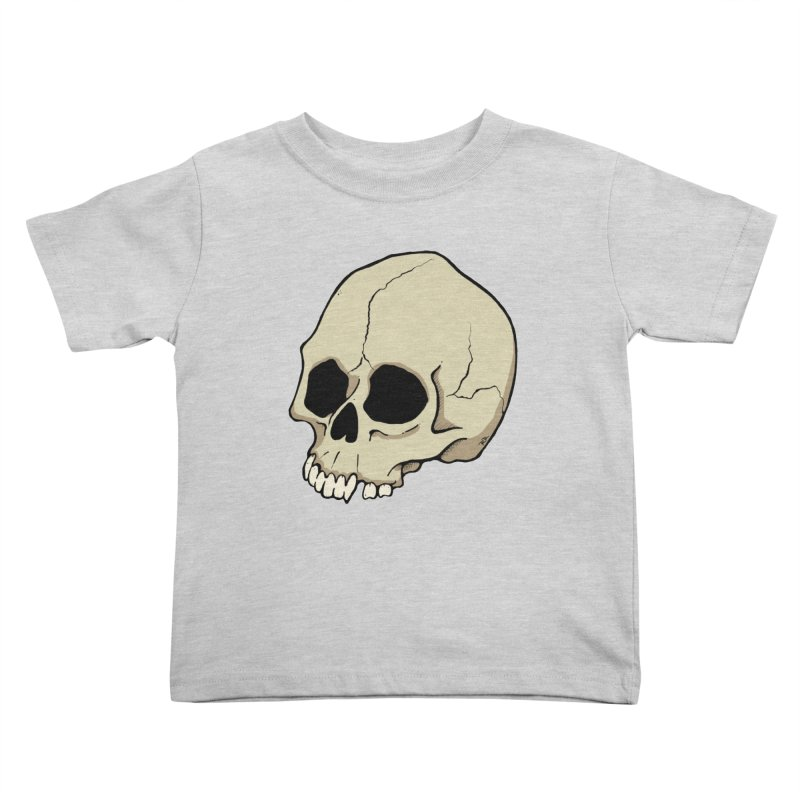 Skull Kids Toddler T-Shirt by RichRogersArt