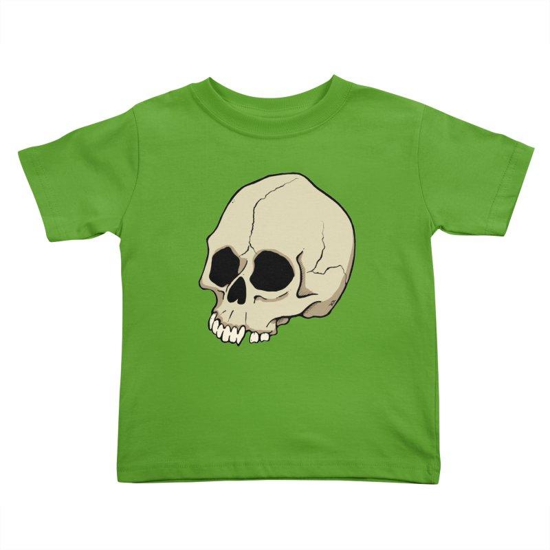 Skull Kids Toddler T-Shirt by RichRogersArt