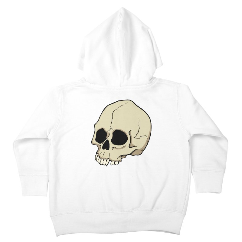 Skull Kids Toddler Zip-Up Hoody by RichRogersArt