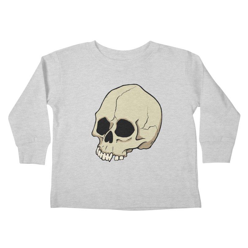 Skull Kids Toddler Longsleeve T-Shirt by RichRogersArt