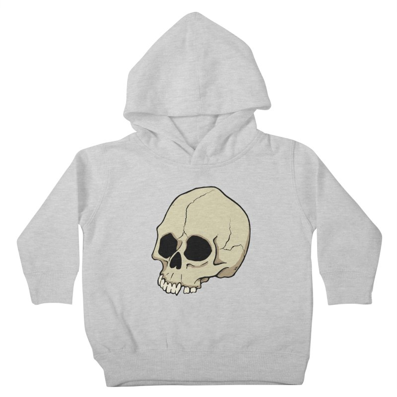 Skull Kids Toddler Pullover Hoody by RichRogersArt