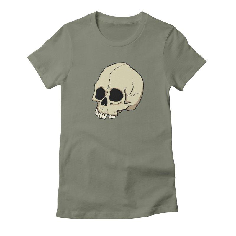 Skull Women's T-Shirt by RichRogersArt