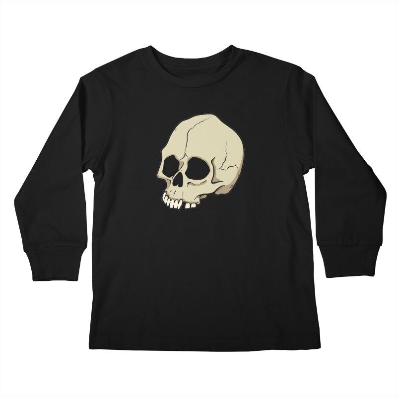 Skull Kids Longsleeve T-Shirt by RichRogersArt