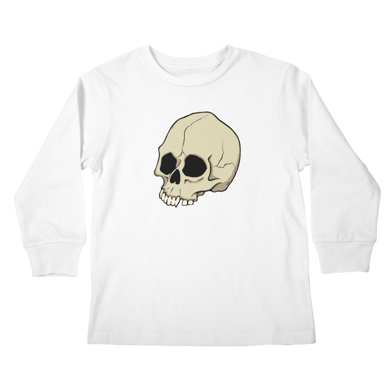 Skull Kids Longsleeve T-Shirt by RichRogersArt