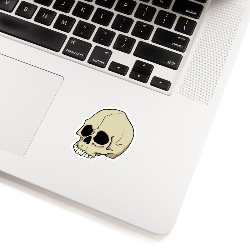 Skull Accessories Sticker by RichRogersArt