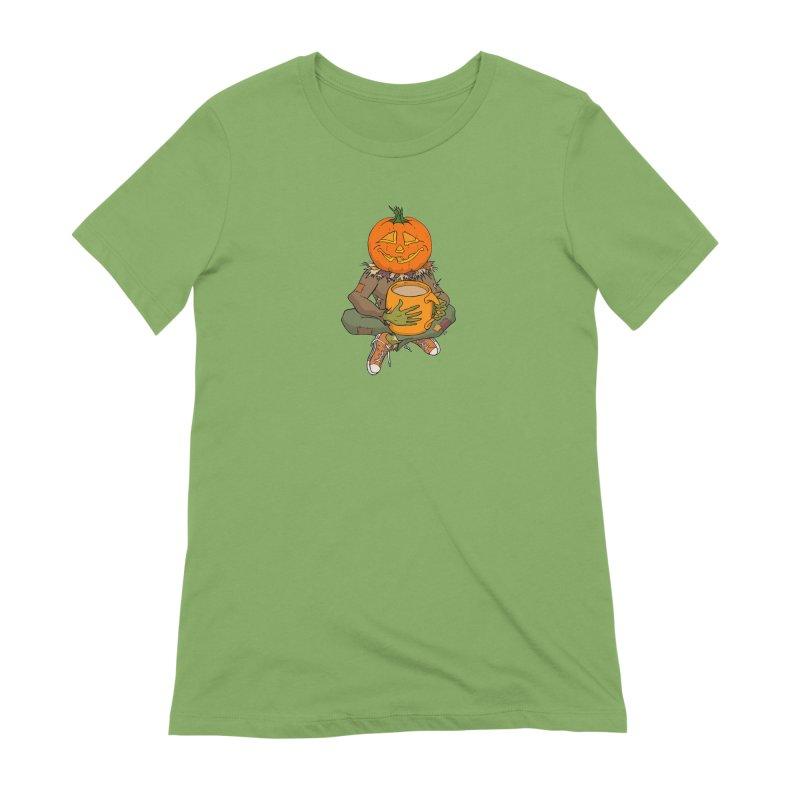 Pumpkin Spice Women's Extra Soft T-Shirt by RichRogersArt