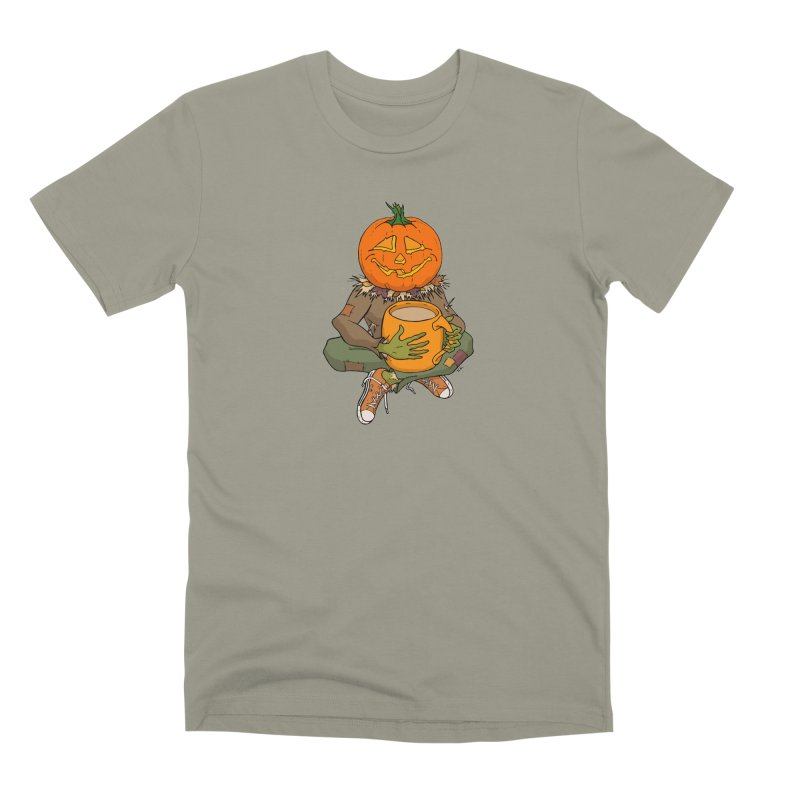 Pumpkin Spice Men's Premium T-Shirt by RichRogersArt