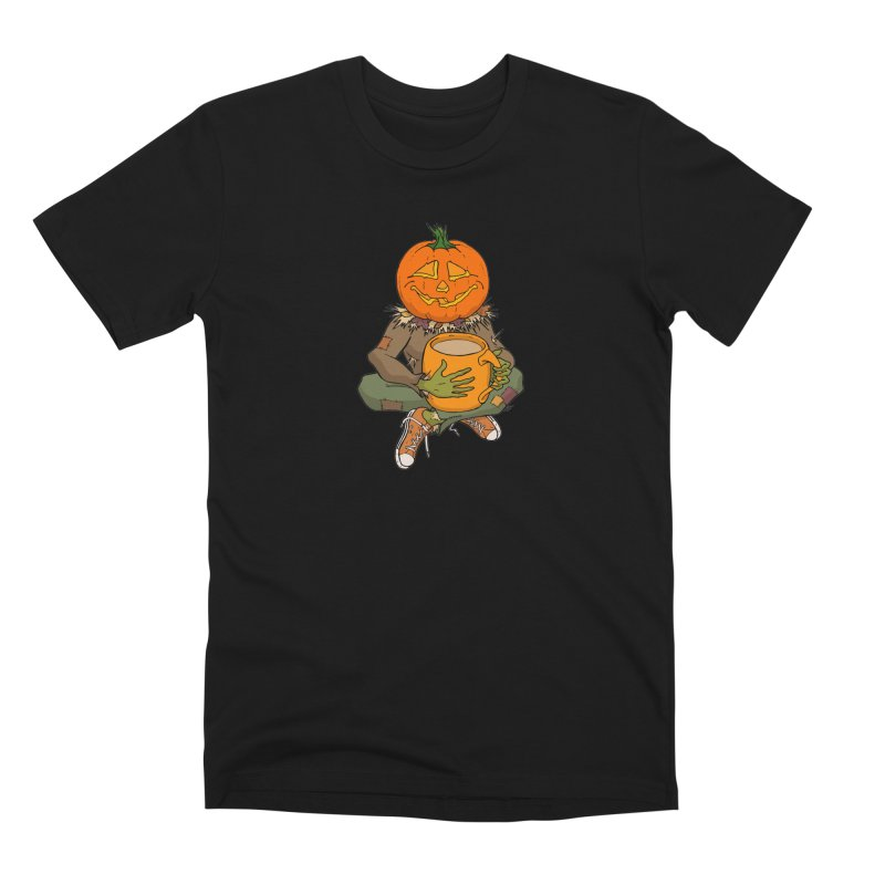 Pumpkin Spice Men's Premium T-Shirt by RichRogersArt