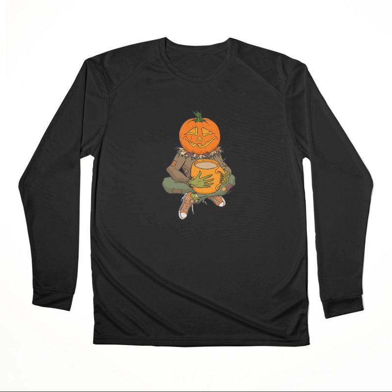 Pumpkin Spice Women's Performance Unisex Longsleeve T-Shirt by RichRogersArt