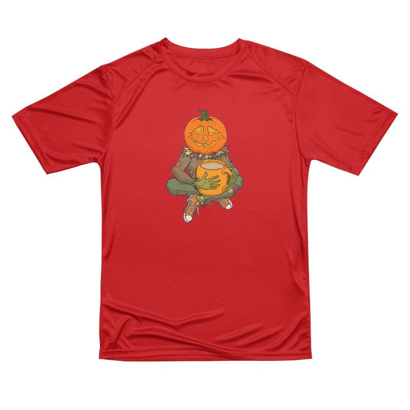 Pumpkin Spice Men's Performance T-Shirt by RichRogersArt