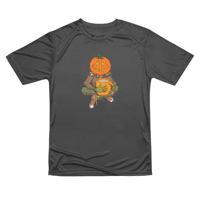 Pumpkin Spice Women's Performance Unisex T-Shirt by RichRogersArt