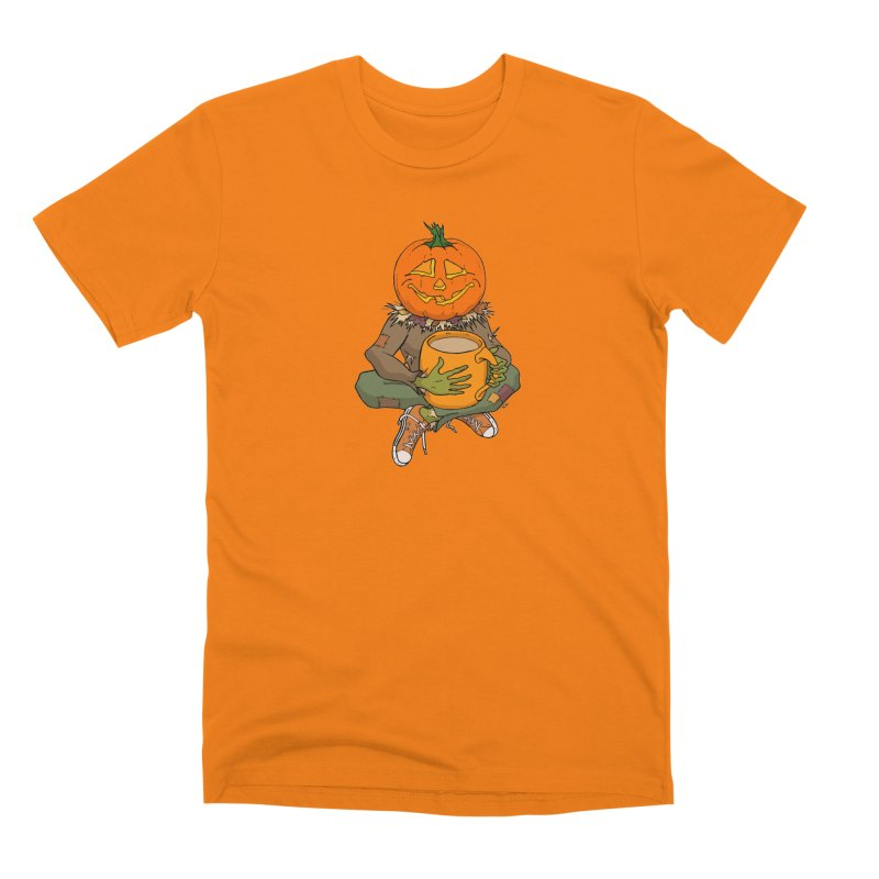 Pumpkin Spice Men's T-Shirt by RichRogersArt