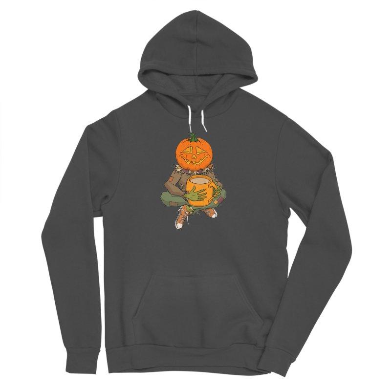 Pumpkin Spice Women's Sponge Fleece Pullover Hoody by RichRogersArt