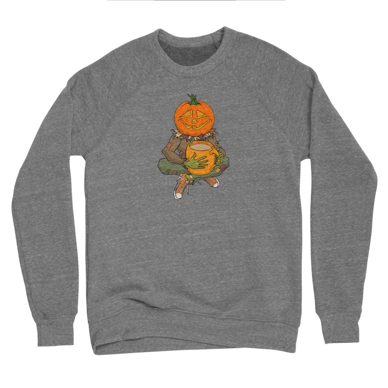 Pumpkin Spice Men's Sponge Fleece Sweatshirt by RichRogersArt