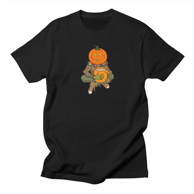 Pumpkin Spice Men's Regular T-Shirt by RichRogersArt