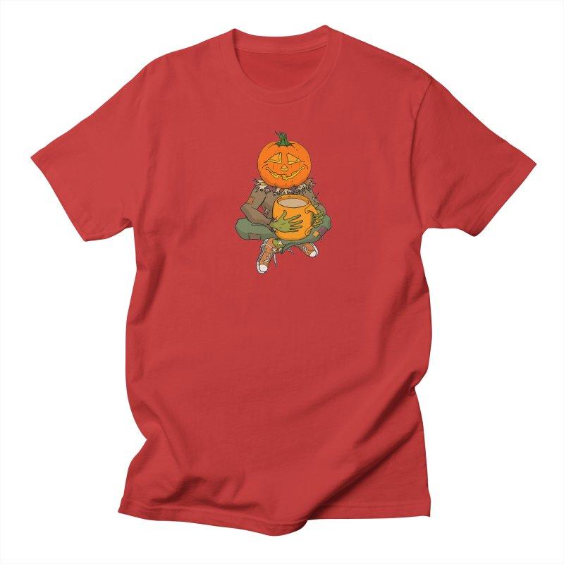 Pumpkin Spice Women's Regular Unisex T-Shirt by RichRogersArt
