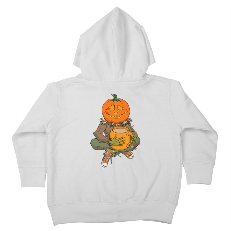 Pumpkin Spice Kids Toddler Zip-Up Hoody by RichRogersArt