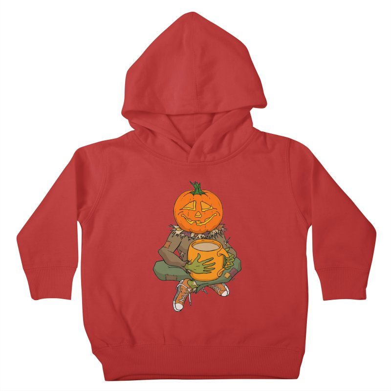 Pumpkin Spice Kids Toddler Pullover Hoody by RichRogersArt