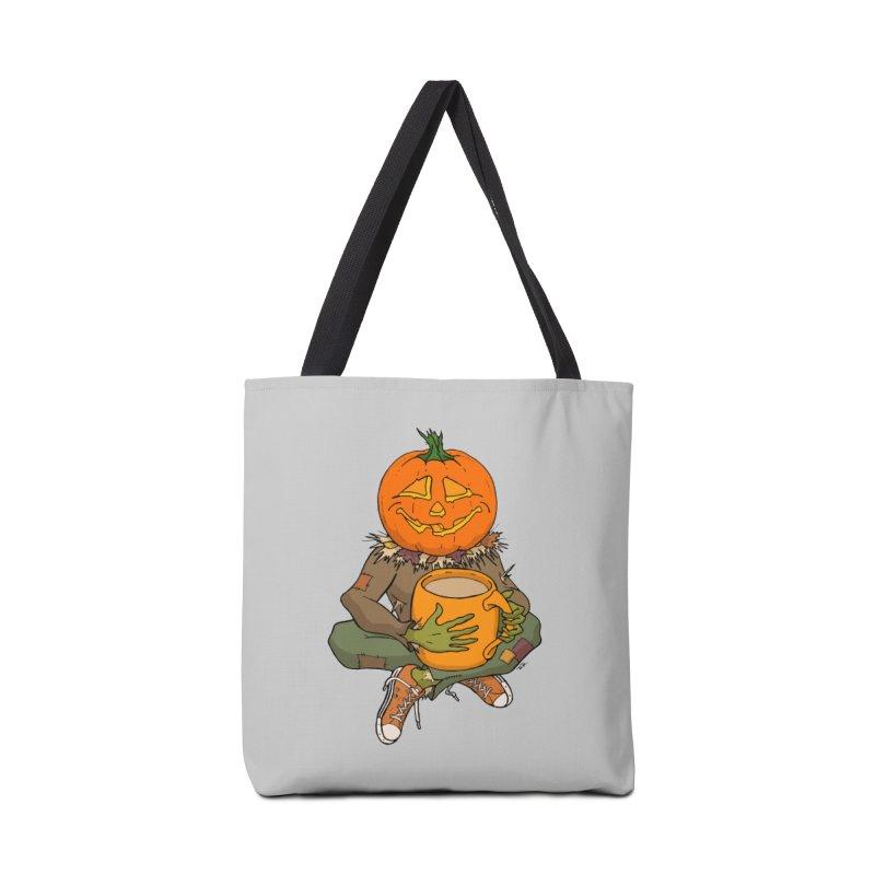 Pumpkin Spice Accessories Tote Bag Bag by RichRogersArt