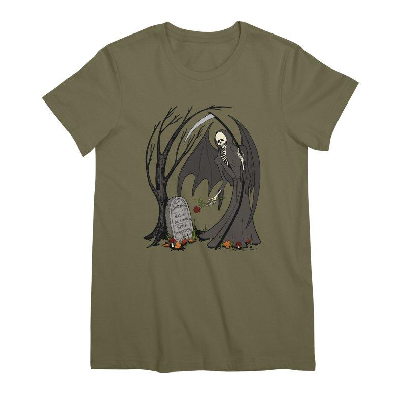 All Alone Women's Premium T-Shirt by RichRogersArt