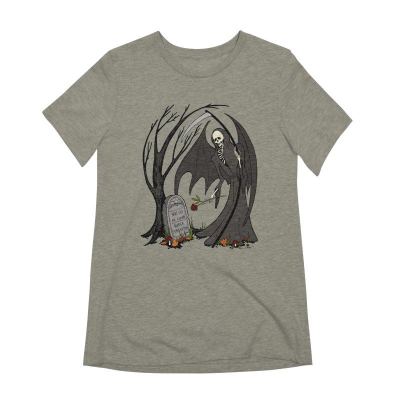 All Alone Women's Extra Soft T-Shirt by RichRogersArt