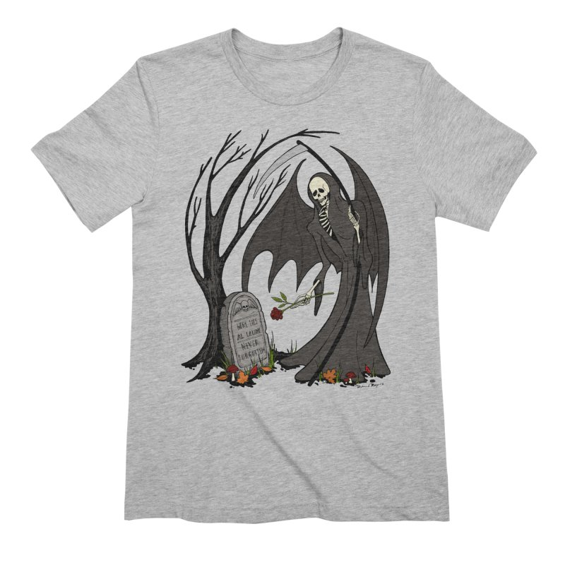 All Alone Men's Extra Soft T-Shirt by RichRogersArt