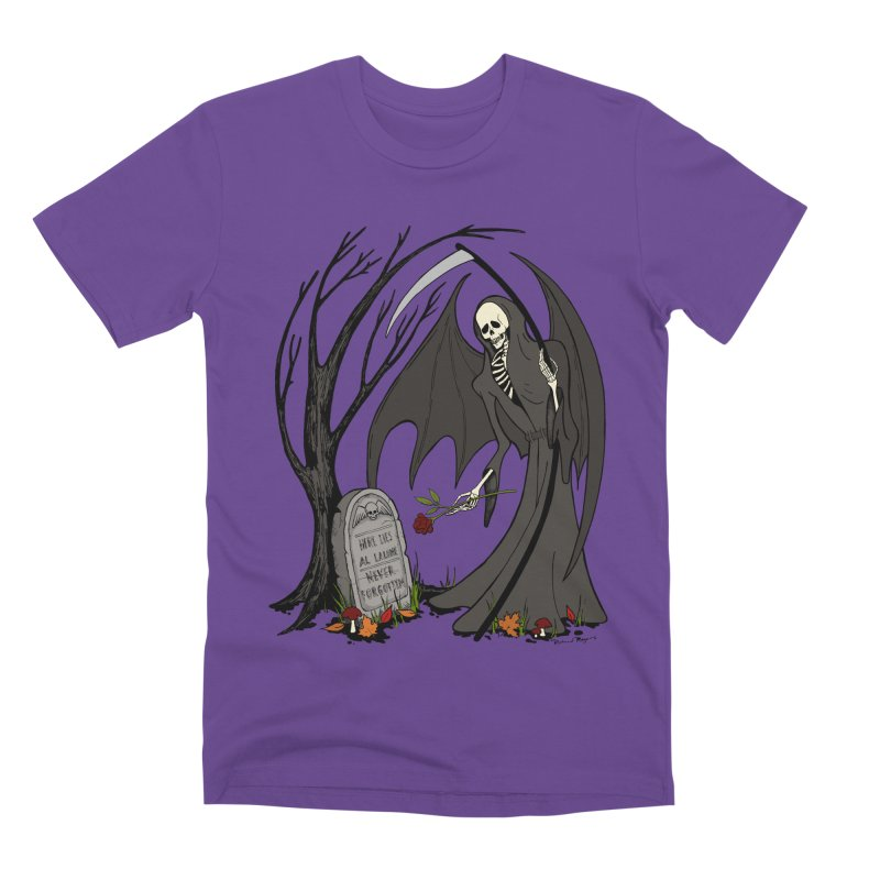 All Alone Men's T-Shirt by RichRogersArt