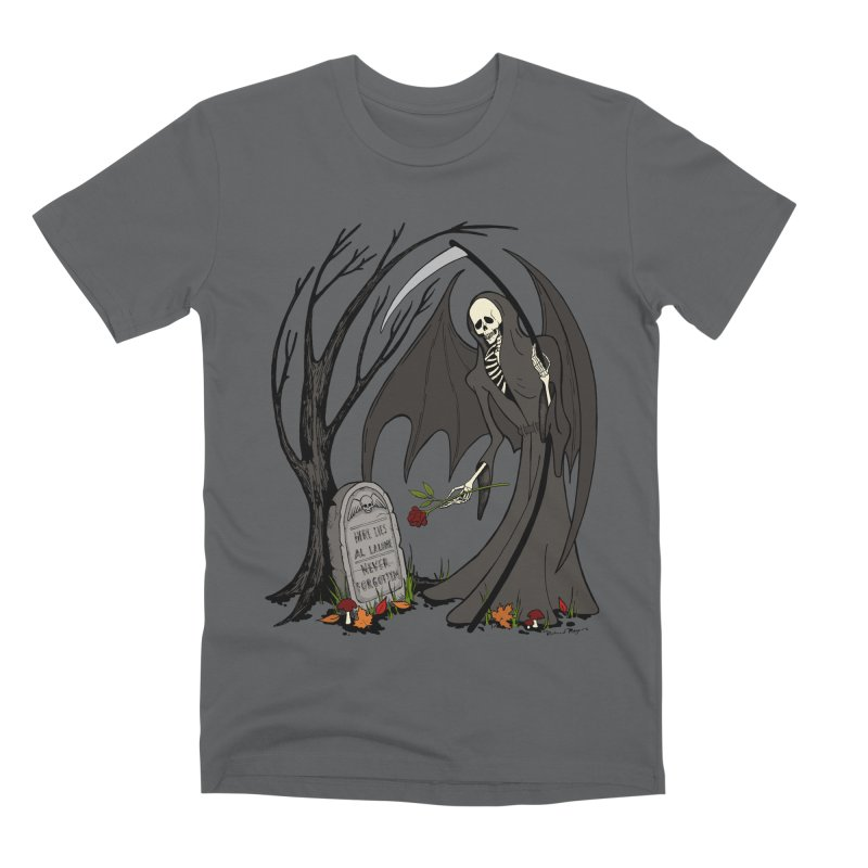 All Alone Men's Premium T-Shirt by RichRogersArt