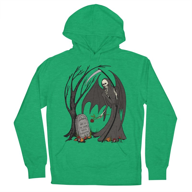 All Alone Women's French Terry Pullover Hoody by RichRogersArt