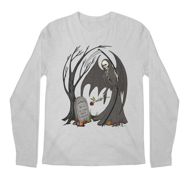 All Alone Men's Regular Longsleeve T-Shirt by RichRogersArt