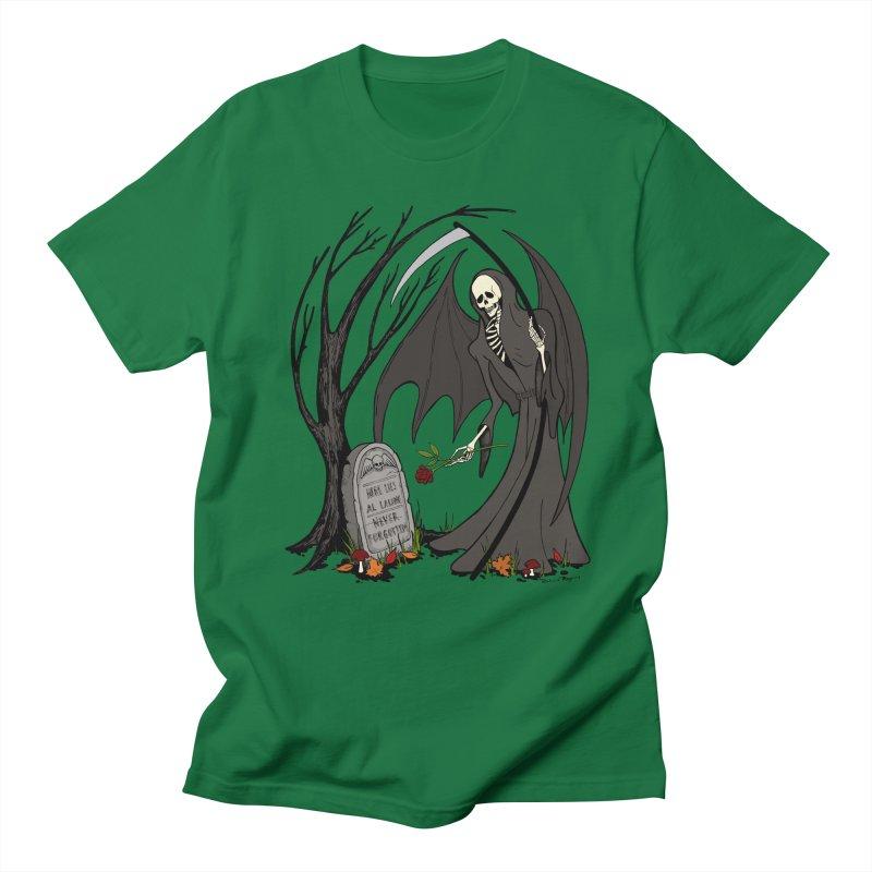 All Alone Women's Regular Unisex T-Shirt by RichRogersArt