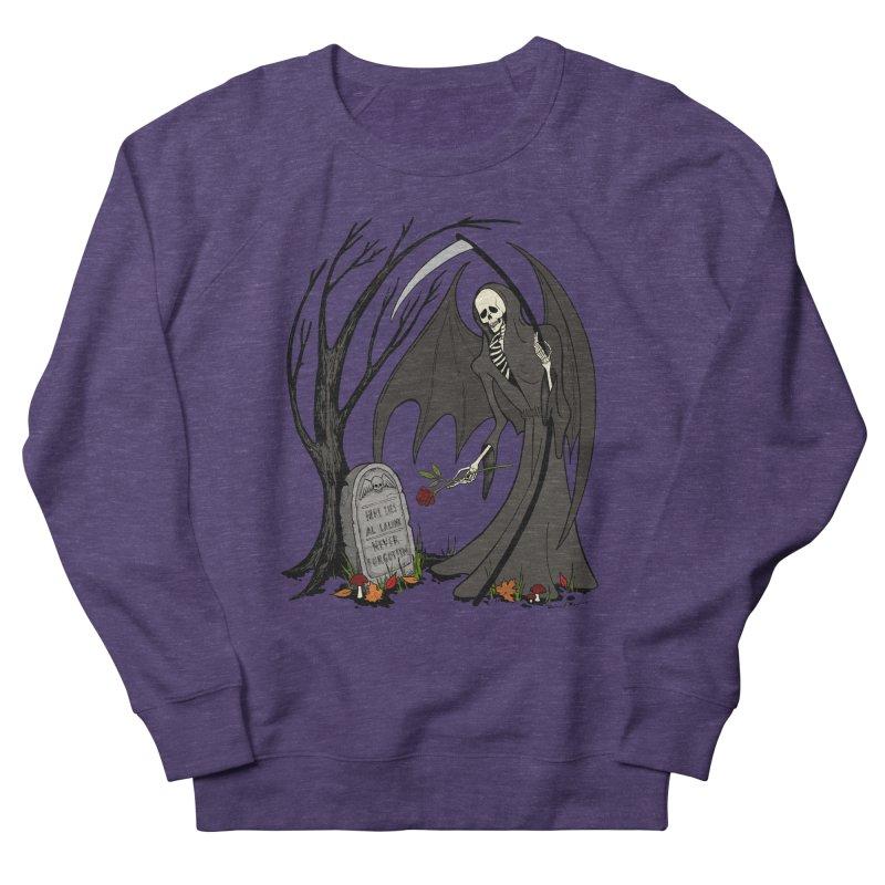 All Alone Women's French Terry Sweatshirt by RichRogersArt