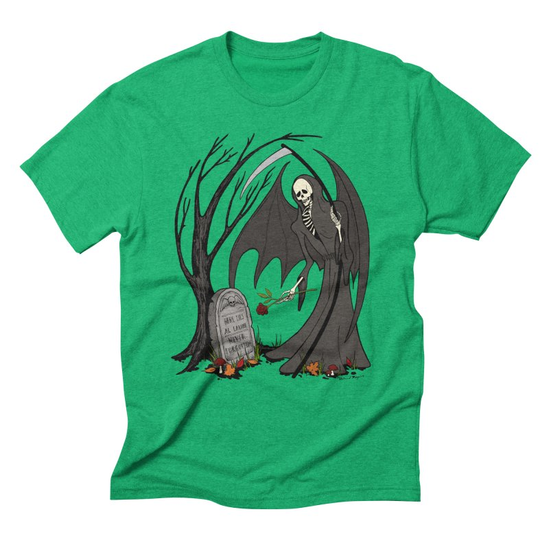 All Alone Men's Triblend T-Shirt by RichRogersArt