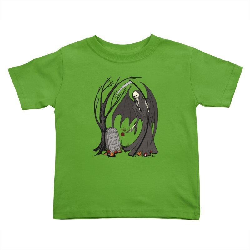 All Alone Kids Toddler T-Shirt by RichRogersArt