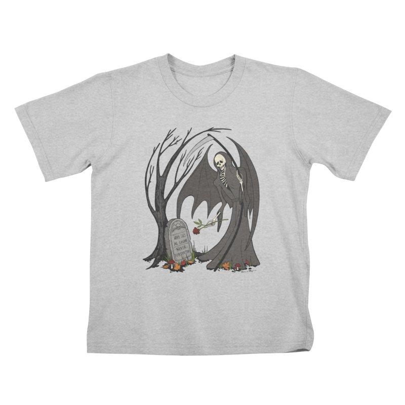 All Alone Kids T-Shirt by RichRogersArt